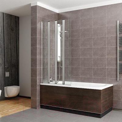Стеклянная шторка для ванны Radaway EOS PNW4 (205401-101) - общий вид