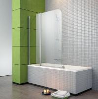Стеклянная шторка для ванны Radaway Eos II PND 110/L (206211-01L) -
