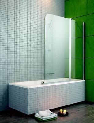 Стеклянная шторка для ванны Radaway EOS II PND 110/R (206211-01R) - общий вид