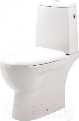 Унитаз напольный Cersanit Arena A011 (чаша+бачок+сиденье) - общий вид