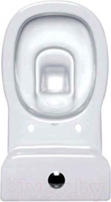 Унитаз напольный Cersanit Facile FAC011 (чаша+бачок+сиденье) - вид сверху