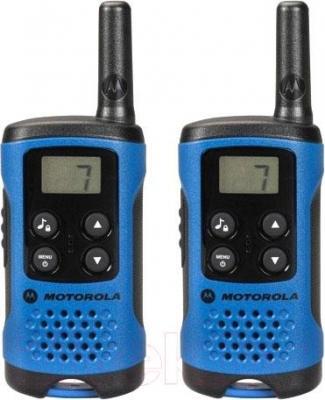 Радиостанция Motorola TLKR-T41 (синий) - общий вид