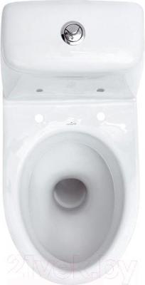Унитаз напольный Cersanit Еko Е011 (чаша+бачок+сиденье) - вид сверху