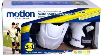 Комплект защиты Motion Partner MP109S (разные цвета) - упаковка