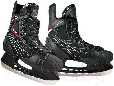 Коньки хоккейные Action PW-209A (размер 39) - общий вид пары