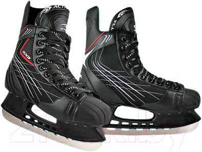 Коньки хоккейные Action PW-209A (размер 42) - общий вид пары