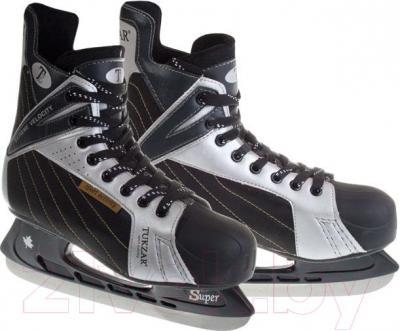 Коньки хоккейные Tukzar TZ 216C (размер 40) - общий вид пары