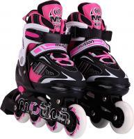 Роликовые коньки Motion Partner MP122L (L, розовый) -