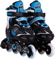 Роликовые коньки Motion Partner MP122L (L, голубые) -