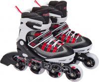 Роликовые коньки Motion Partner MP129S (S, красные) -