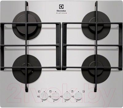 Газовая варочная панель Electrolux EGT96342YX - общий вид