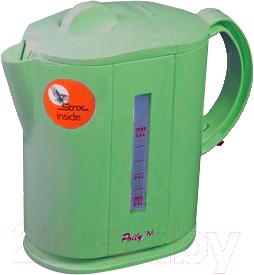 Электрочайник Polly M (салатовый) - цвет на фото может отличаться от оригинального цвета модели