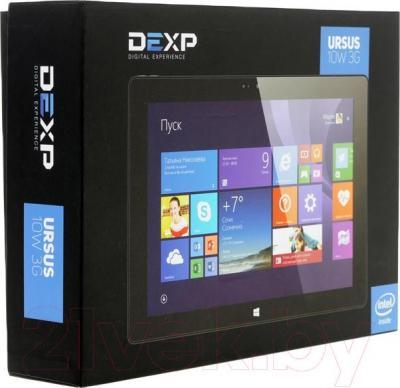 Планшет DEXP Ursus 10W2 3G (черный) - упаковка
