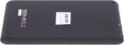 Планшет DEXP Ursus 8E2 mini (черный) - вид сзади