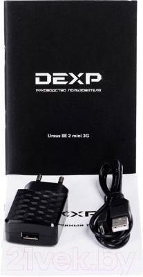 Планшет DEXP Ursus 8E2 mini (черный) - комплектация