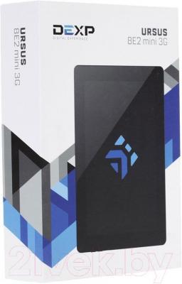Планшет DEXP Ursus 8E2 mini (черный) - упаковка