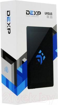 Планшет DEXP Ursus 8E (черный) - упаковка