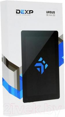 Планшет DEXP Ursus 8E mini (черный) - упаковка