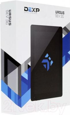 Планшет DEXP Ursus 9EV (черный) - упаковка