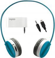 Наушники-гарнитура Rapoo H3070 (комплект: серые и голубые) -