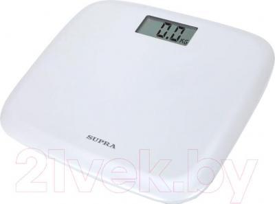 Напольные весы электронные Supra BSS-6050 (белые)