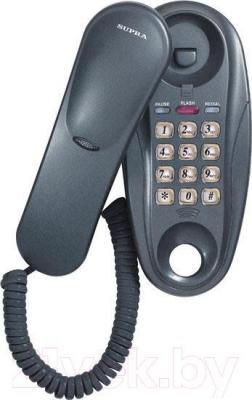 Проводной телефон Supra STL-112 (серый) - общий вид