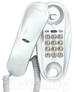 Проводной телефон Supra STL-112 (белый) - общий вид