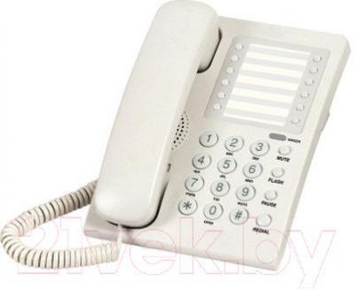 Проводной телефон Supra STL-311 (белый) - общий вид
