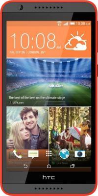 Смартфон HTC Desire 820 (темно-серый/оранжевый)