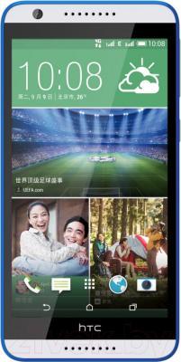 Смартфон HTC Desire 820 (бело-синий) - общий вид