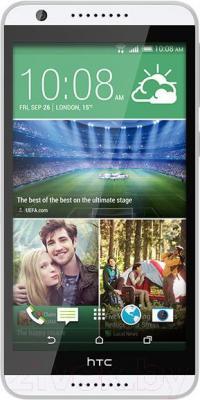 Смартфон HTC Desire 820 (бело-серый) - общий вид