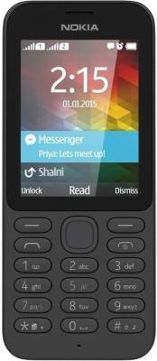 Мобильный телефон Nokia 215 Dual (черный)