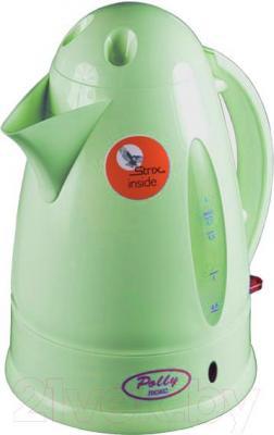 Электрочайник Polly Люкс ЕК-11 (салатовый) - общий вид
