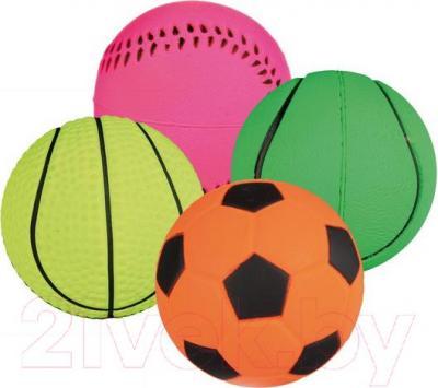 Набор игрушек для животных Trixie Neon Balls 3460 - общий вид