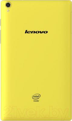 Планшет Lenovo TAB S8-50LC 16GB LTE (желтый) - вид сзади
