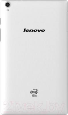 Планшет Lenovo TAB S8-50LC 16GB LTE (белый) - вид сзади