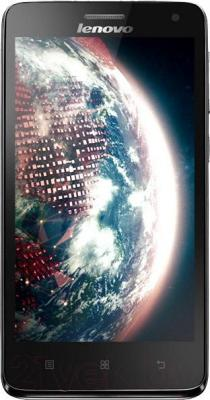 Смартфон Lenovo S660 (титановый) - общий вид