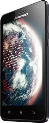 Смартфон Lenovo S660 (титановый) - вполоборота