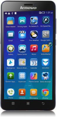 Мобильный телефон Lenovo S850 (тёмно-синий)