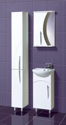 Шкаф-пенал для ванной Акваль Палермо (ПАЛЕРМО.03.00.00.L) - в интерьере