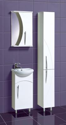 Шкаф-пенал для ванной Акваль Палермо (ПАЛЕРМО.03.00.00.R) - в интерьере