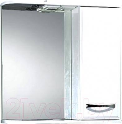 Шкаф с зеркалом для ванной Акваль Виола 70 (AV.04.70.10.R)