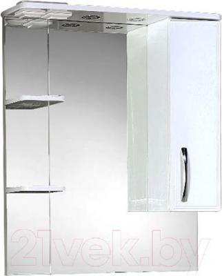 Шкаф с зеркалом для ванной Акваль Виола 75 (AV.04.75.10.R)