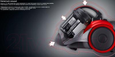 Пылесос Samsung SC15H4010V (VC15H4010VR/EV) - особенности модели