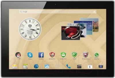 Планшет Prestigio MultiPad 4 Diamond 10.1 3G (PMT7177_3G_D_BK_BUNDLE) - общий вид