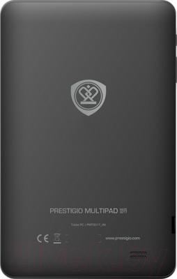 Планшет Prestigio MultiPad Wize 3017 4GB (PMT3017_WI_B_BK) - вид сзади