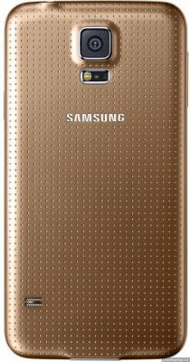 Смартфон Samsung Galaxy S5 Duos LTE / G900FD (золото)