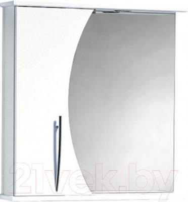 Шкаф с зеркалом для ванной Акваль Палермо 70 (ПАЛЕРМО.04.70.00.L)