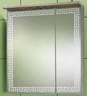 Шкаф с зеркалом для ванной Акваль Паола 60 (EP.04.60.00.L)