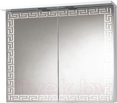 Шкаф с зеркалом для ванной Акваль Паола 80 (EP.04.80.10.N)